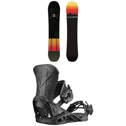 Salomon Super 8 Snowboard ​+ Salomon Defender Snowboard Bindings 2019