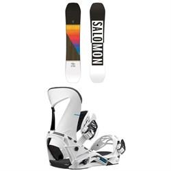 Salomon Huck Knife Snowboard + Salomon Hologram Snowboard Bindings 2019