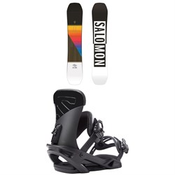 Salomon Huck Knife Snowboard 2019 + Salomon Trigger X Snowboard Bindings 2019