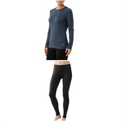 Smartwool Merino 250 Baselayer Crew Top ​+ Merino 250 Baselayer Bottoms - Women's