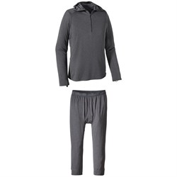 Patagonia Capilene® Thermal Weight Zip-Neck Hoodie ​+ Patagonia Capilene™ Thermal Weight Boot-Length Pants