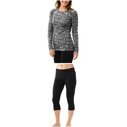 Smartwool Merino 250 Baselayer Pattern Crew Top ​+ Merino 250 Baselayer 34 Bottoms - Women's