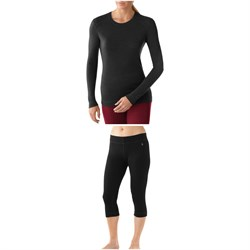 Smartwool Merino 250 Baselayer Crew Top ​+ Merino 250 Baselayer 34 Bottoms - Women's