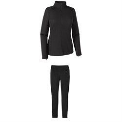 Patagonia Capilene Thermal Weight Zip-Neck Top + Thermal Weight Pants -  Women s  188.00 a93fdf86de28