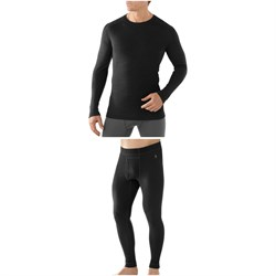 Smartwool Merino 250 Baselayer Crew Top ​+ Smartwool Merino 250 Baselayer Bottoms