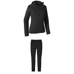 Patagonia Capilene® Thermal Weight Zip-Neck Hoodie ​+ Thermal Weight Pants - Women's