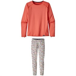 Patagonia Capilene Crewneck Top - Big Girls' ​+ Patagonia Capilene Pants - Big Girls'