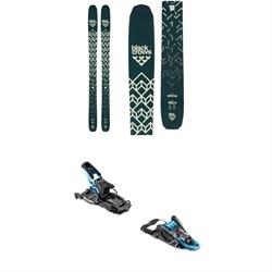 Black Crows Anima Skis + Salomon S/Lab Shift MNC Alpine Touring Ski Bindings 2019