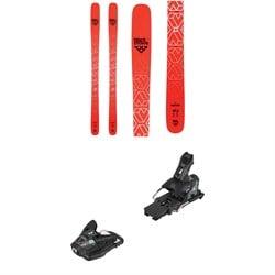 Black Crows Camox Skis + Salomon STH2 WTR 13 Ski Bindings 2019