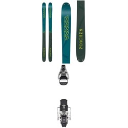 K2 Poacher Skis + Atomic STH2 16 WTR Ski Bindings 2019