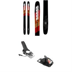 K2 Catamaran Skis + Look Pivot 14 AW Ski Bindings