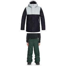 DC Defy Jacket - Boys' ​+ DC Banshee Pants - Boys'