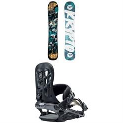 Rossignol Krypto Snowboard + Rome 390 Boss Snowboard Bindings