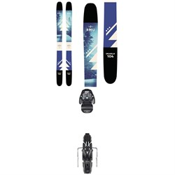 RMU Valhalla 104 Skis - Women's + Atomic Warden MNC 11 Bindings 2019