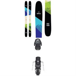 RMU North Shore 108 Wood Skis ​+ Atomic Warden MNC 13 Bindings 2019