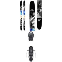 RMU Apostle 98 Wood Skis + Atomic Warden MNC 13 Bindings 2019
