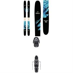 RMU Valhalla 95 Skis - Women's + Atomic Warden MNC 11 Bindings 2019