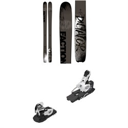 Faction Dictator 2.0 Skis ​+ Salomon Warden MNC 13 Ski Bindings 2019