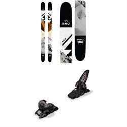 RMU Apostle 106 Wood Skis + Marker Griffon 13 ID Ski Bindings 2019