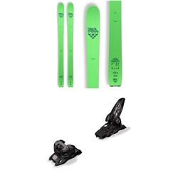 Black Crows Navis Freebird Skis + Marker Griffon 13 ID Ski Bindings 2019