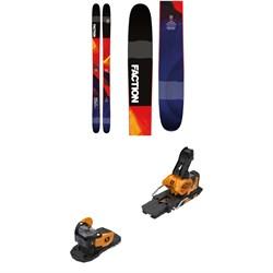Faction Prodigy 2.0 Skis + Salomon Warden MNC 13 Ski Bindings 2019