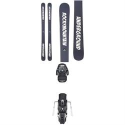 RMU Rippah Skis + Atomic Warden MNC 13 Bindings 2019