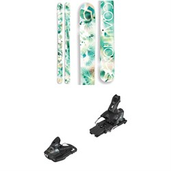 Coalition Snow Rebel Skis - Women's ​+ Salomon STH2 WTR 13 Ski Bindings 2019