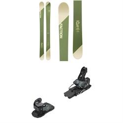 Faction Candide 5.0 LTD Skis + Salomon Warden MNC 13 Ski Bindings 2019