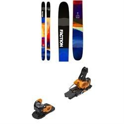 Faction Prodigy 3.0 Skis + Salomon Warden MNC 13 Ski Bindings 2019