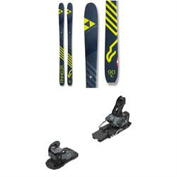 Fischer Ranger 90 Ti Skis ​+ Salomon Warden MNC 13 Ski Bindings 2019