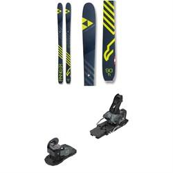 Fischer Ranger 90 Ti Skis + Salomon Warden MNC 13 Ski Bindings 2019