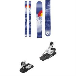 Folsom Skis Completo Skis + Salomon Warden MNC 13 Ski Bindings 2019