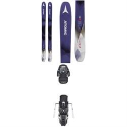 Atomic Backland 102 W Skis - Women's + Warden MNC 13 Bindings 2019