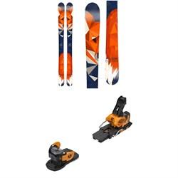 Folsom Skis Catwalk W Skis - Women's + Salomon Warden MNC 13 Ski Bindings 2019