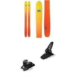 DPS Wailer 112 Foundation Skis + Marker Griffon 13 ID Ski Bindings 2019