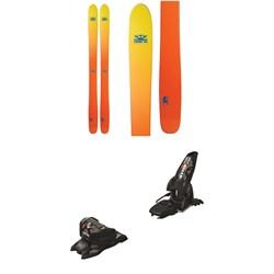 DPS Wailer 112 Foundation Skis + Marker Jester 16 ID Ski Bindings 2019