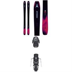 Atomic Backland 85 W Skis - Women's + Warden MNC 13 Bindings 2019