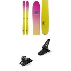 DPS Yvette 112 Foundation Skis - Women's + Marker Griffon 13 ID Ski Bindings 2019