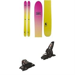DPS Yvette 112 Foundation Skis - Women's + Marker Jester 16 ID Ski Bindings 2019