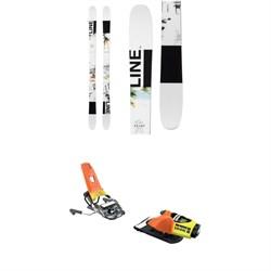 Line Skis Tom Wallisch Pro Skis + Look Pivot 18 Ski Bindings 2019