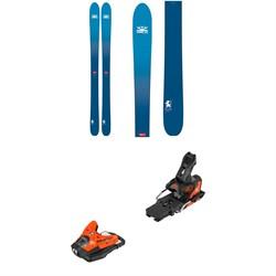 DPS Wailer 106 Foundation Skis + Salomon STH2 WTR 13 Ski Bindings 2019