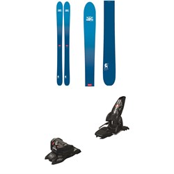 DPS Wailer 106 Foundation Skis + Marker Jester 16 ID Ski Bindings 2019