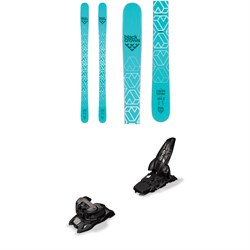Black Crows Captis Birdie Skis - Women's ​+ Marker Griffon 13 ID Ski Bindings 2019