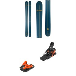 DPS Powderworks Wailer 110 Alchemist Pro Skis ​+ Salomon STH2 WTR 13 Ski Bindings 2019
