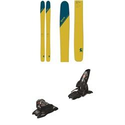 DPS Wailer 112RP.2 Tour1 Skis + Marker Jester 16 ID Ski Bindings 2019
