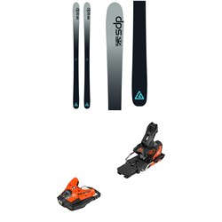 DPS Cassiar 82 Foundation Skis ​+ Salomon STH2 WTR 13 Ski Bindings 2019