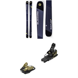 Blizzard Rustler 9 Skis ​+ Salomon STH2 WTR 16 Ski Bindings