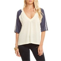 Chaser Blocked Jersey Raglan T-Shirt - Women's
