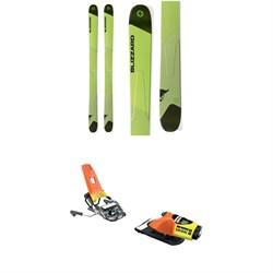 3140591a764 Blizzard Rustler 11 Skis + Look Pivot 18 Ski Bindings 2019  1