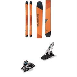Blizzard Cochise Skis + Marker Griffon 13 ID Ski Bindings 2019